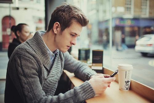 Image result for cute guy texting