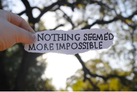 nothing seemed more impossible