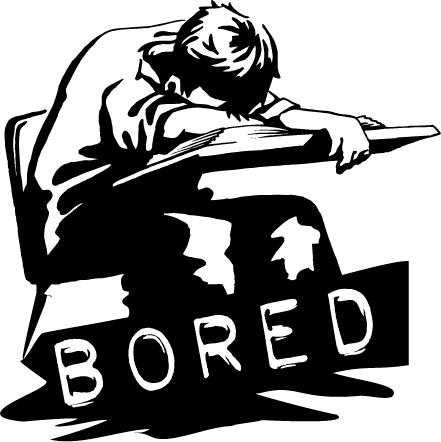 bored