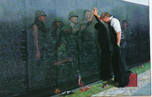 remembrance day vietnam memorial wall
