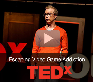 Cam Adair TEDx Escaping Video Game Addiction