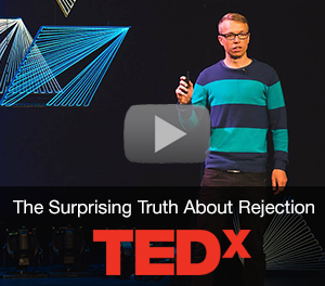 Cam Adair TEDx The Surprising Truth About Rejection